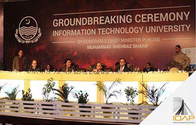 Ground Breaking Ceremony Information Technology University (ITU)