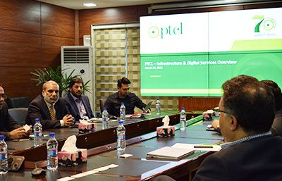 Meeting with PTCL team