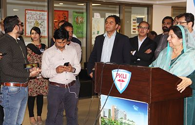 Health Minister, Dr. Yasmin Rashid visited PKLI