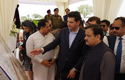 Ground Breaking Ceremony of Nishtar Hospital - II, Multan