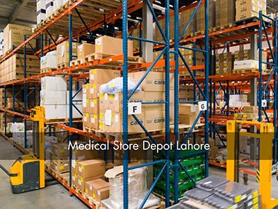 Reconstruction of Warehouse at Medical Store Depot, Lahore