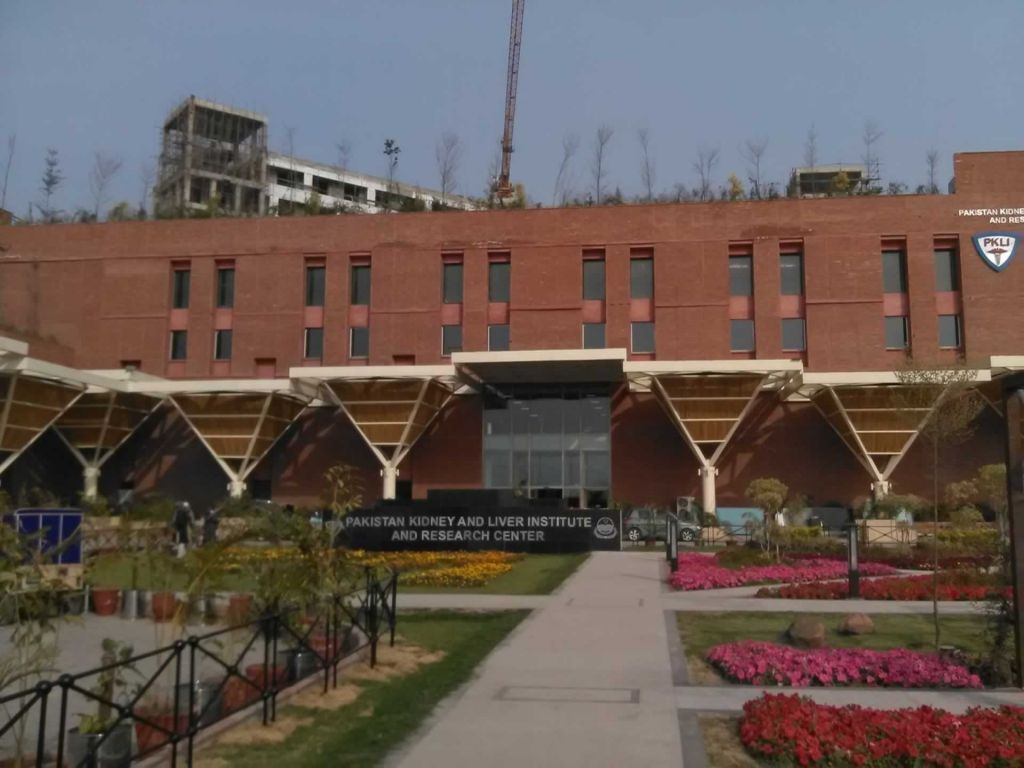 Pakistan Kidney and Liver Institute (PKLI) and Research Centre (A1)