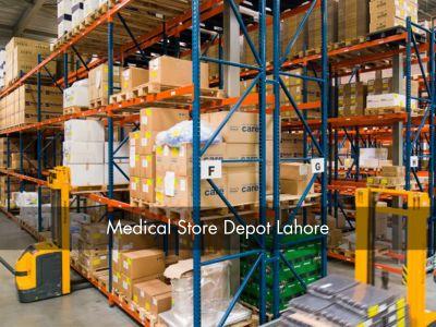 Reconstruction of Warehouse at Medical Store Depot, Lahore