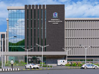 Revamping of Emergency of Services Hospital, Lahore