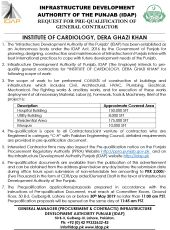 Institute of Cardiology, Dera Ghazi Khan
