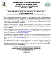Renewal of License for Microsoft Office 365 Business Premium