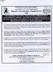 Procurement, Supply, Installation, Commissioning & Maintenance of Medical Gas Pipeline System (Package No. 2) on DAP & DDP Basis, for Sardar Fateh Muhammad Khan Buzdar Institute of Cardiology, DG Khan