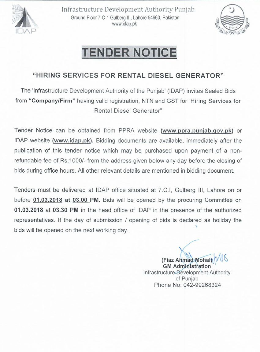 letter of authority for gst